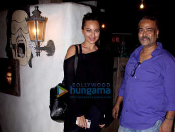Sonakshi Sinha spotted at Hakim's Aalim