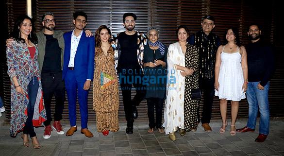 Success party of the film 'Badhaai Ho' at Estella in Juhu