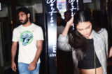 Sunil Shetty's daughter Athiya Shetty spotted @Bastian Bandra