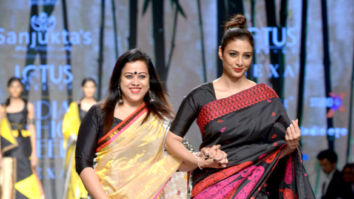 Tabu, Athiya Shetty and others walks the ramp at Lotus Make-up India Fashion Week 2018