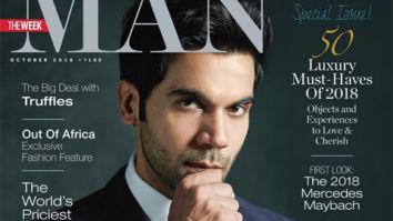 Rajkummar Rao On The Cover Of The Man
