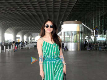 Vaani Kapoor, Aahana Kumra and Gauahar Khan snapped at the airport