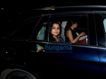 Vidya Balan spotted at Sunny Super Sound in Juhu