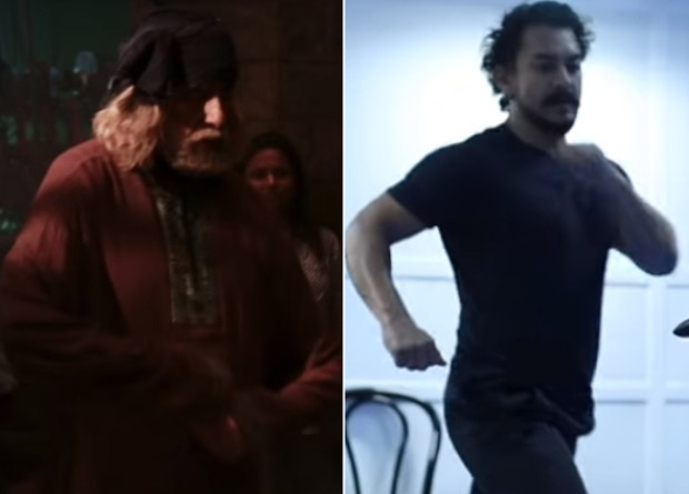 WATCH Amitabh Bachchan and Aamir Khan undergo rigorous action training for fight sequences for Thugs Of Hindostan