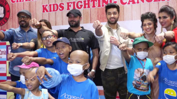 CHECK OUT:Ishita Chauhan & Utkarsh Sharma attend Charity Event for Cancer Patients