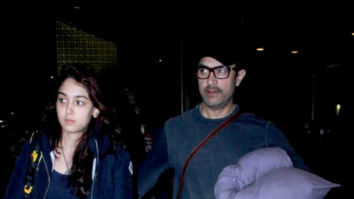 Aamir Khan, Ira Khan, Disha Patani and others snapped at the airport