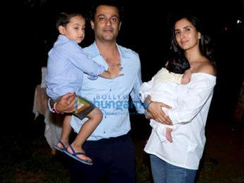 Abhishek Kapoor and Pragya Kapoor snapped during son's birthday celebration