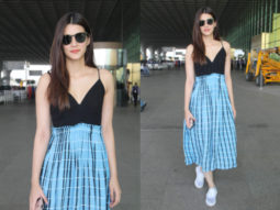 Airport Slay or Nay - Kriti Sanon in Vedika M at the airport (Featured)