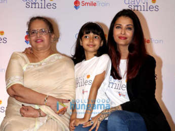 Aishwarya Rai Bachchan snapped celebrating her father's birthday with kids from Smile Foundation
