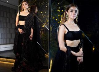 Alia Bhatt in Shyamal and Bhumika for Diwali 2018 bash (Featured)