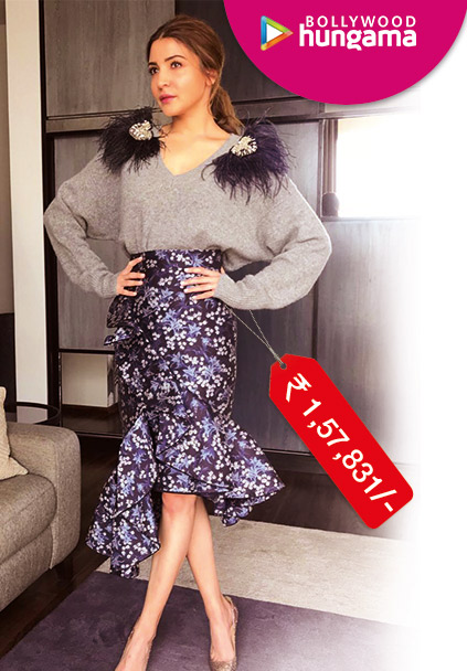 Anushka Sharma in Johanna Oritz for Zero promotions (Featured)