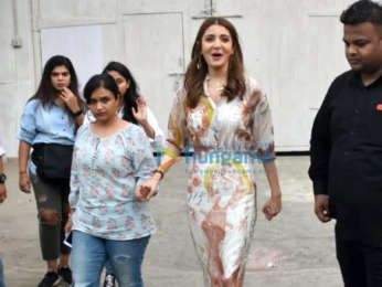 Anushka Sharma spotted at Mehboob Studios