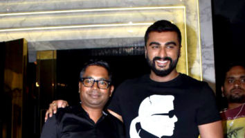 Arjun Kapoor and Rajkumar Gupta snapped at the wrap up party of India's Most Wanted