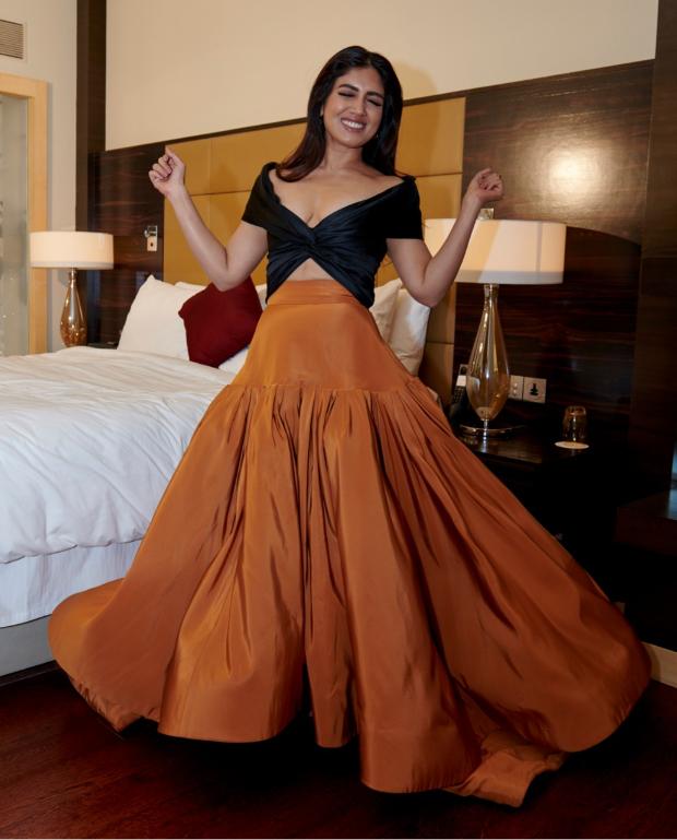 Bhumi Pednekar in Reem Acra for MAMI 2018 Closing Ceremony (1)