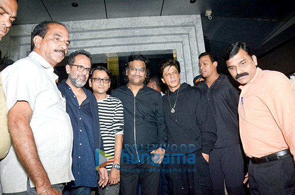 Celebs grace Shah Rukh Khan's birthday bash at Arth, Bandra