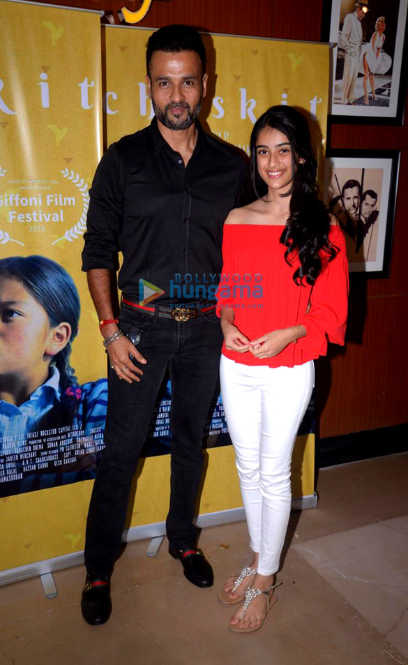 Celebs grace the special screening of Namrata Goyal's second film 'Chuskit'
