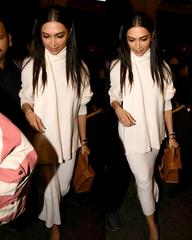 Deepika Padukone in Zara separates, Hermes bag and Christian Louboutin pumps (2)