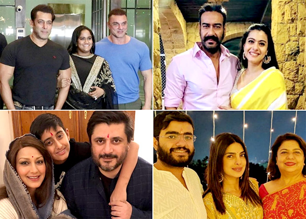 Diwali 2018 Salman Khan, Priyanka Chopra, Ajay Devgn, Kareena Kapoor, Sonali Bendre celebrate the festival in full swing