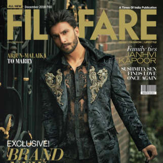 Ranveer Singh On The Cover Of Filmfare, Dec 2018