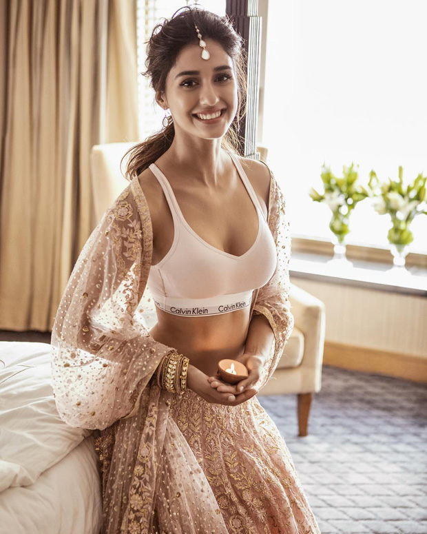 HOT PIC ALERT: Disha Patani re-uploads pic in a sports bra after getting trolled
