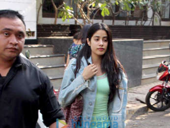 Janhvi Kapoor snapped at Manish Malhotra's store