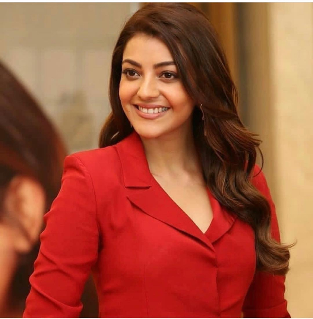 Kajal Aggarwal in Nikita Mhaisalkar for Kavacham trailer launch (3)