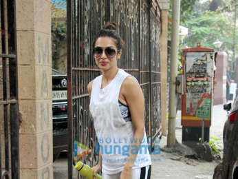 Malaika Arora snapped at her mother's house
