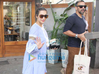 Malaika Arora spotted at Sequel