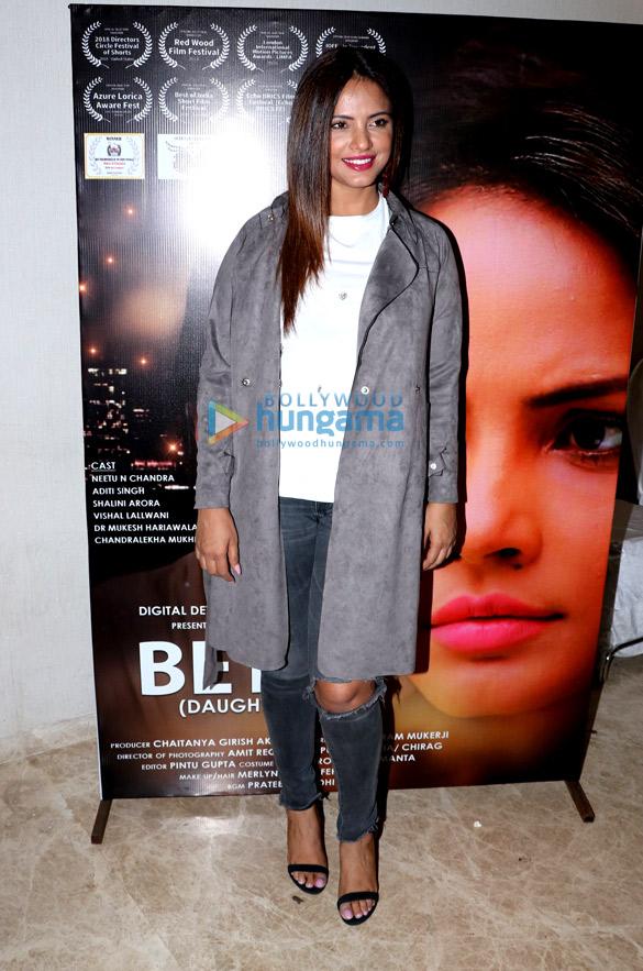 Neetu Chandra grace the 'Beti' event (6)