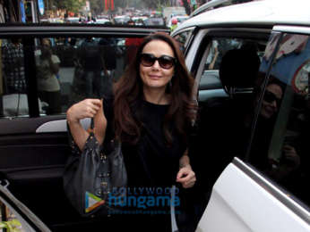 Preity Zinta spotted at a skin clinic