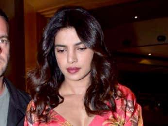 Priyanka Chopra snapped at JW Marriott for dinner