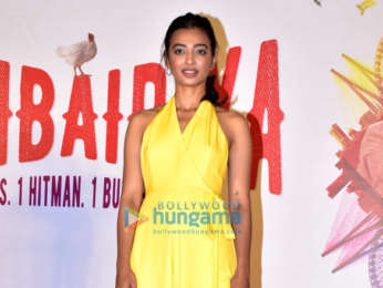 Radhika Apte, Siddhanth Kapoor and others snapped at the trailer launch of 'Bombairiya'