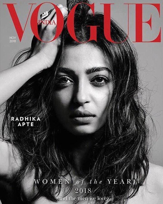 Radhika Apte yet again shines as the Woman of the Year!