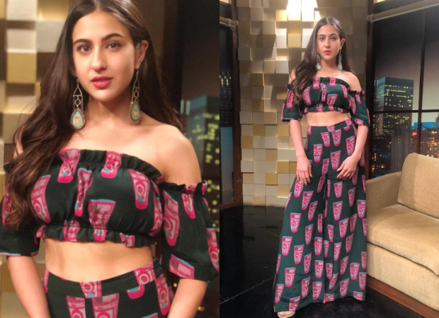 Sara Ali Khan in Masaba Gupta for Kedarnath promotions (Featured)