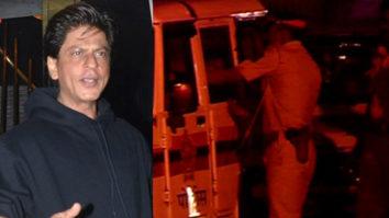 SRK Injured Fan in police Van