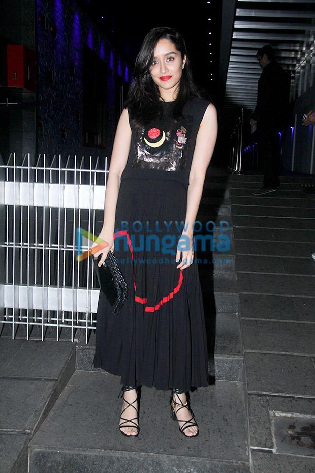 Shraddha Kapoor in Reem Acra for a birthday bash (7)