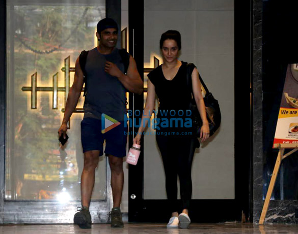 Shraddha Kapoor spotted at a gym in Bandra (1)
