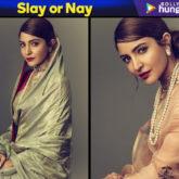 Slay or Nay - Anushka Sharma in Raw Mango for a photoshoot (Featured)