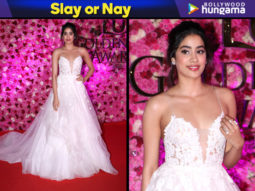 Slay or Nay - Janhvi Kapoor in Reem Acra for Lux Gold Rose Awards 2018 (Featured)
