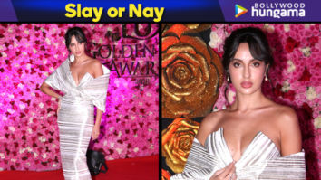 Slay or Nay - Nora Fatehi in Caroline Bibawi for Lux Gold Rose Awards 2018 (Featured)