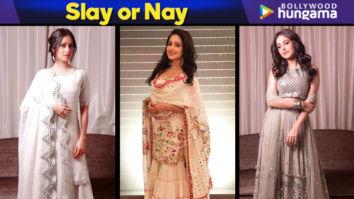 Slay or Nay - Nushrat Bharucha for Diwali 2018 celebrations (Featured)
