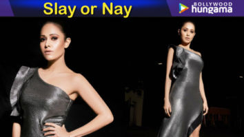 Slay or Nay - Nushrat Bharucha in Dolly J Studio for Exhibit Awards 2018 (Featured)