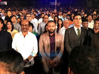 Snapped: Rajinikanth and Akshay Kumar at 2.0 trailer launch