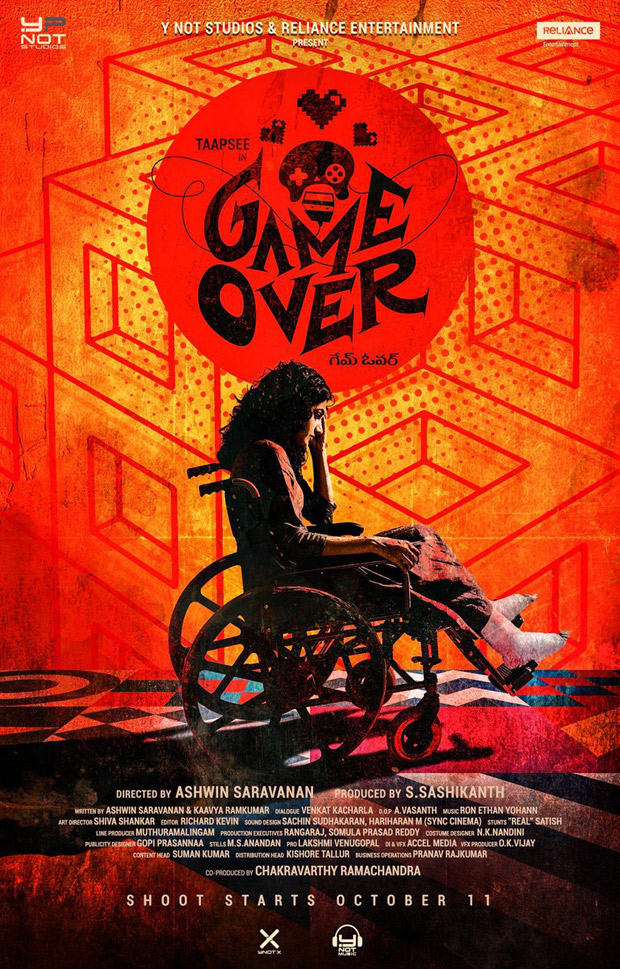 REVEALED: Taapsee Pannu's role in the upcoming bilingual GAME OVER