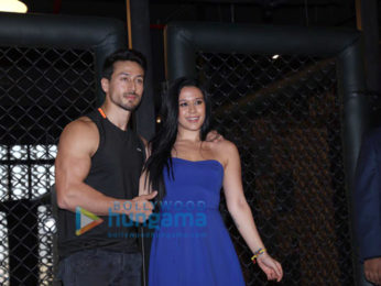 Tiger Shroff and Krishna Shroff snapped at their MMA accredited gym launch at Sukasa