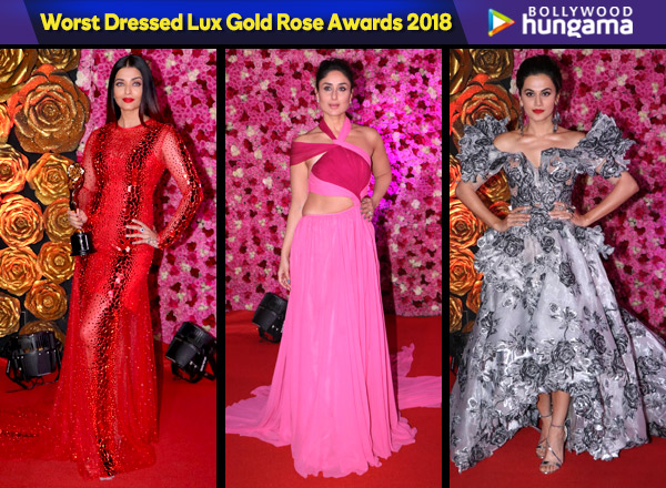 lux golden rose awards 2018 worst dressed kareena kapoor khan