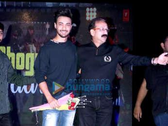 Aayush Sharma spotted at NMK College, Bandra