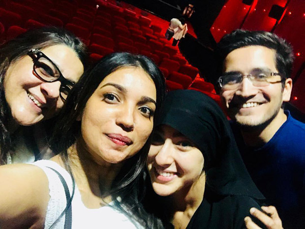After the debut in Kedarnath, Sara Ali Khan went undercover in a burkha to see audience reaction with mom Amrita Singh