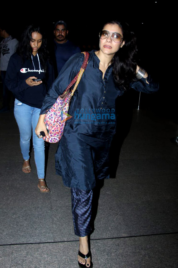 Ajay Devgn, Kajol, Sara Ali Khan and others snapped at the airport