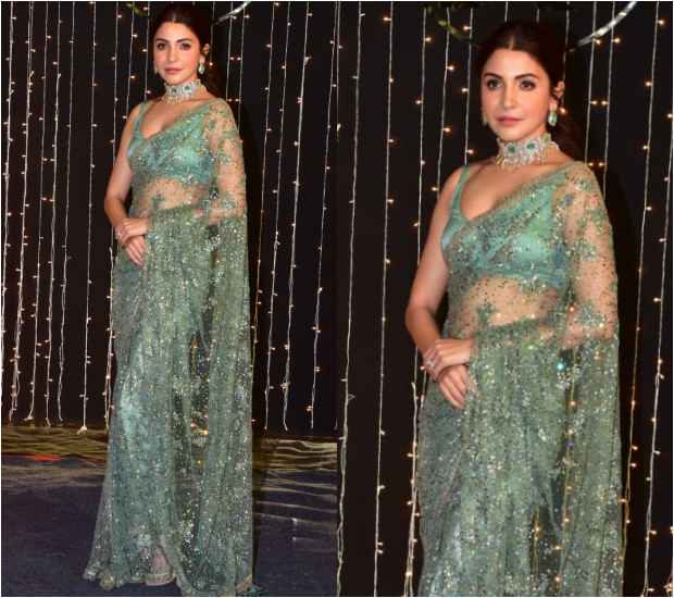 Anushka Sharma at Priyanka Chopra - Nick Jonas Wedding Reception